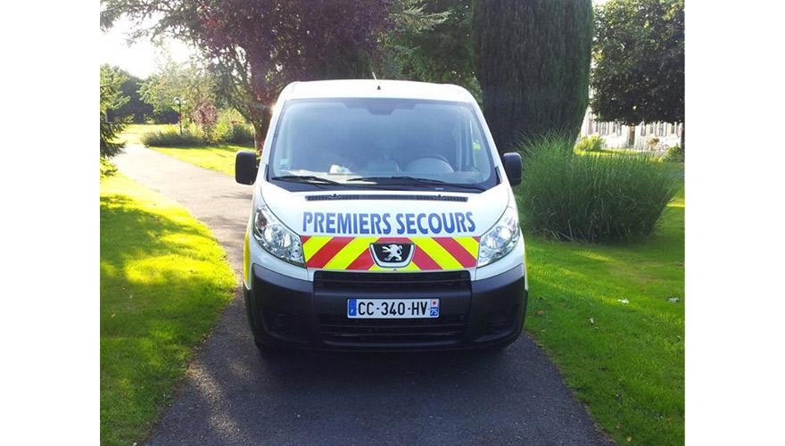 Marquage securite d'un vehicule